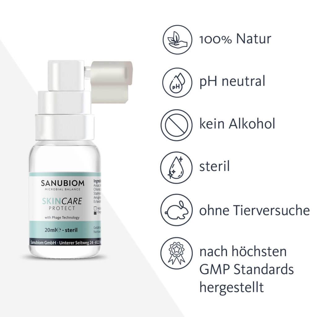 SkinCare Protect Produkteigenschaften