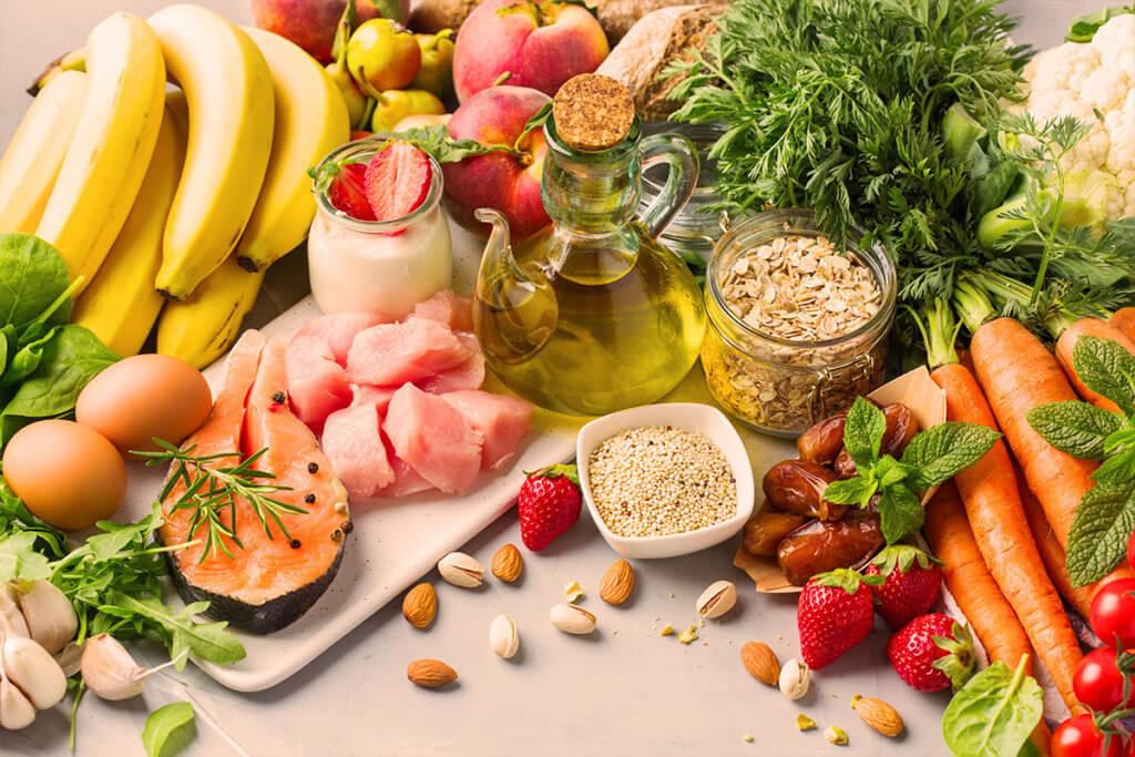 Die richtige Ernährung bei Akne