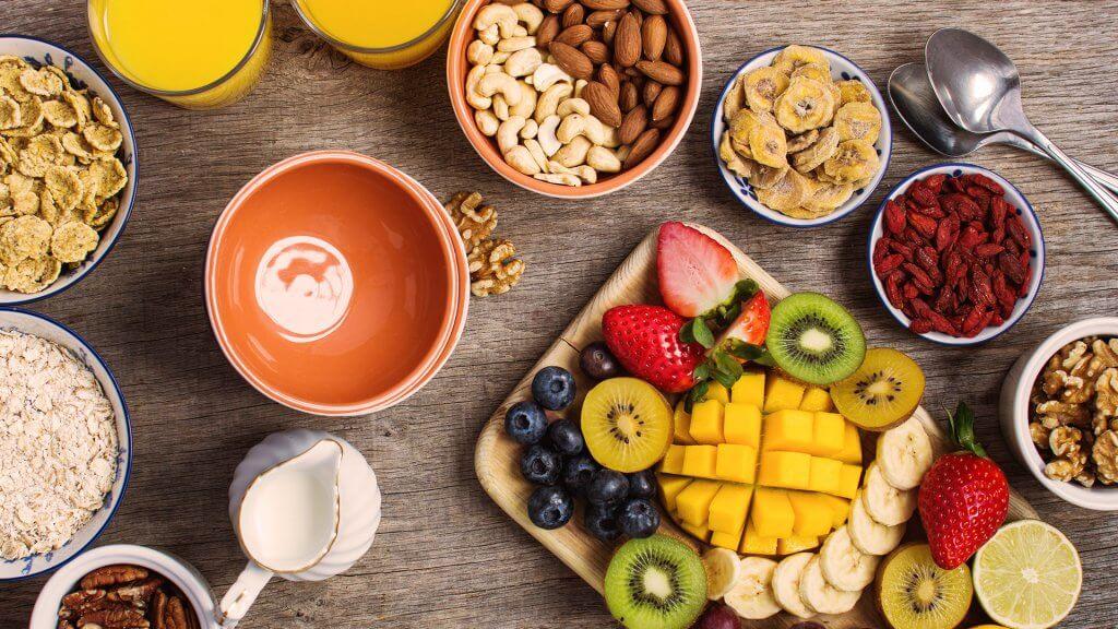 Hautflora stärken: gesunde Ernährung