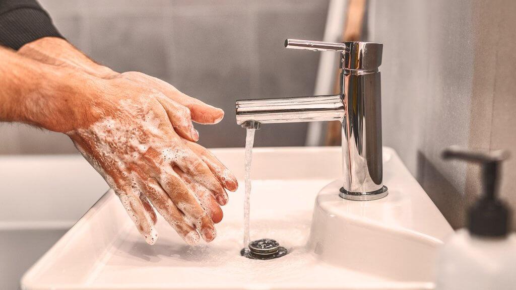 Eine starke Hautflora durch das regelmäßige Händewaschen